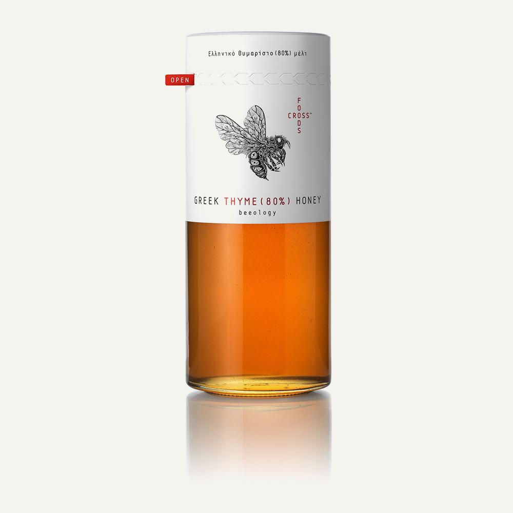 Εκλεκτό Ελληνικό Θυμαρίσιο Μέλι (80% Γυρεόκοκκοι Θυμαριού) – 420gr